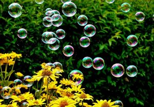 Happiness is like Soap Bubbles